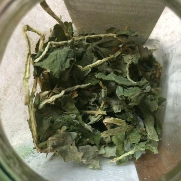 Сушёные листья чистотела